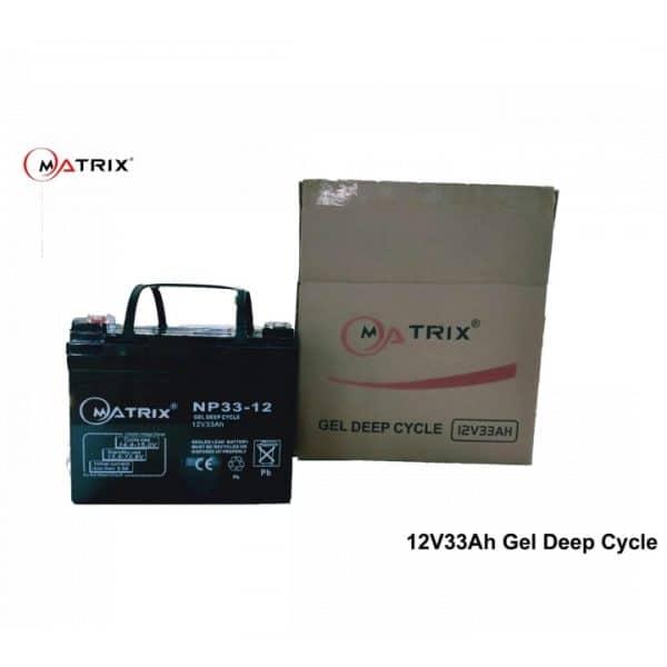 33AH Gel Deep Cycle Battery-packaging