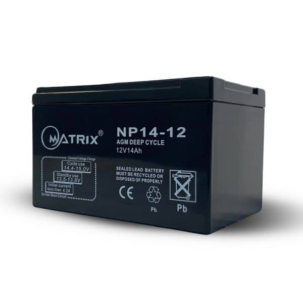 14ah deep cycle replacement battery