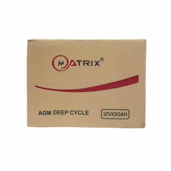 Matrix 100AH Leak-Proof Battery Box